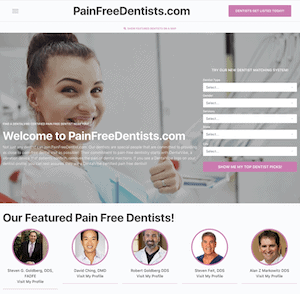DentalVibe® Launches PainFreeDentists.com To Help Promote DentalVibe® Certified Pain-Free Dentists.